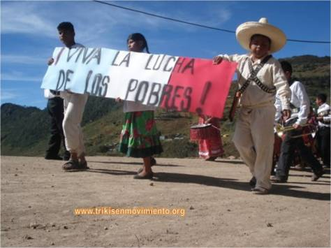Viva la lucha de los pobres