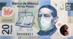 Benito juarez se proteje de la influenza