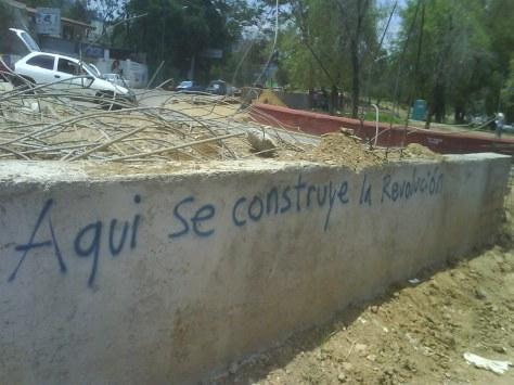 Aqui se construye la revolución